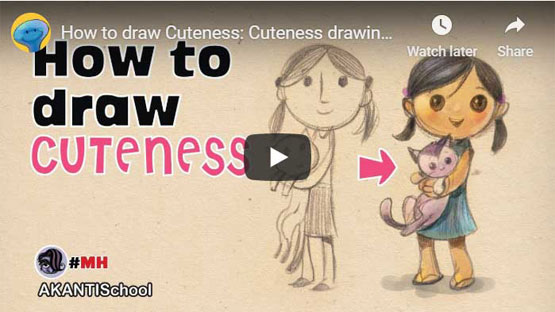 How to draw cuteness
